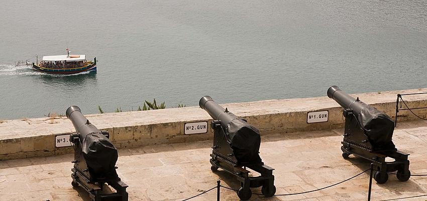 Les canons des jardins de Barraka
