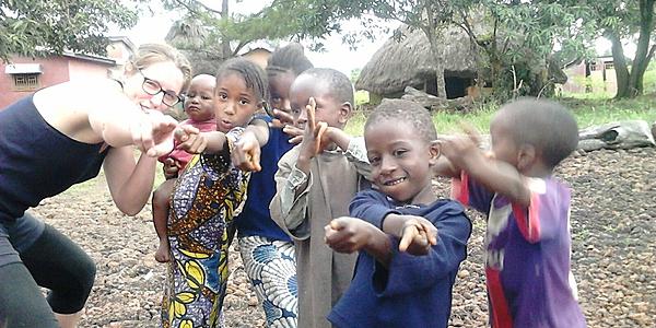 Des enfants dans le Fouta Djalon