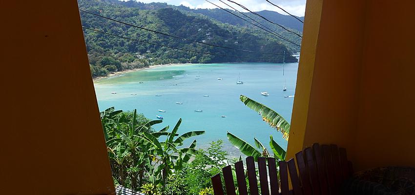 Vue d'une chambre à Tobago