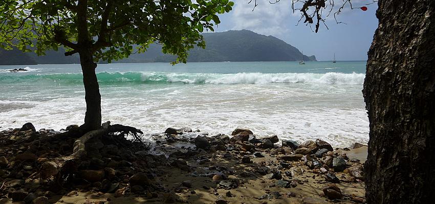Plage de Trinidad et Tobago