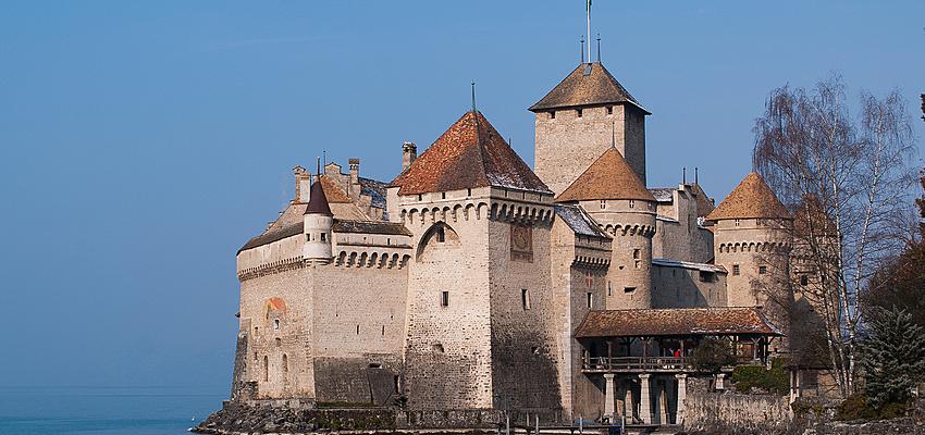 Château de Chillon dans le canton de Vaud