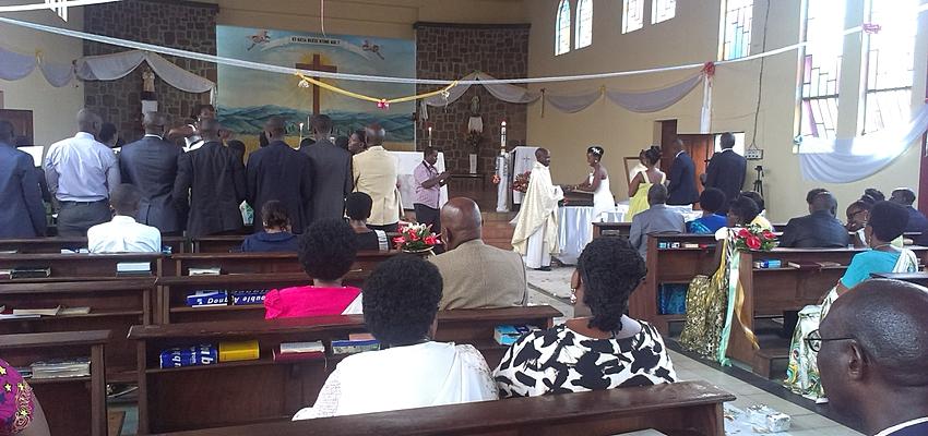 Un mariage à l'Eglise catholique