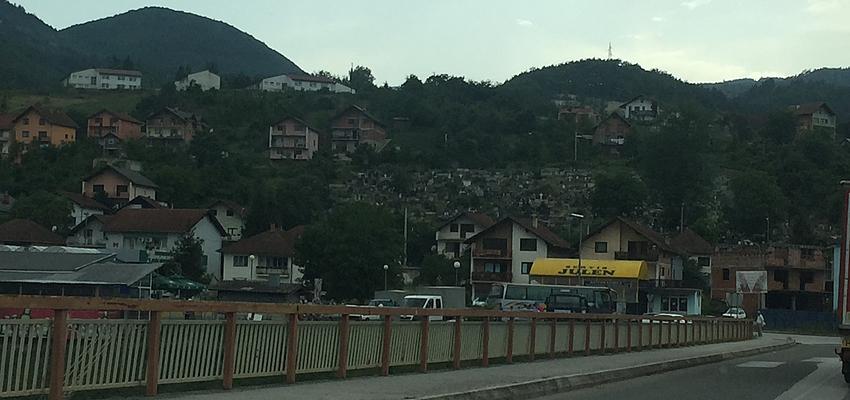 Au détour d'un village serbe, au Nord du pays