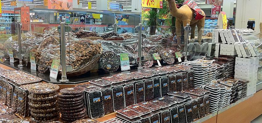 Un supermarché à Abou Dabi