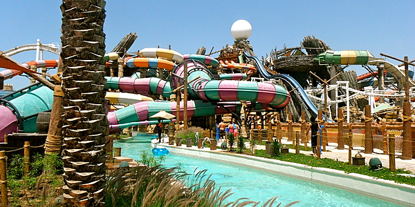 Le parc aquatique Yas Waterworld
