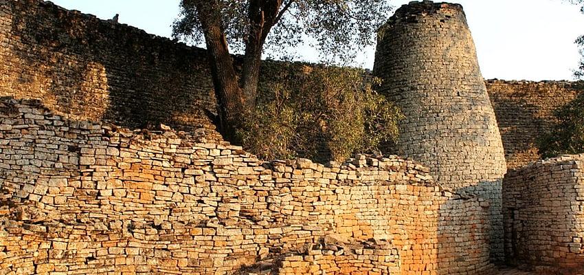Ruines au Zimbabwe