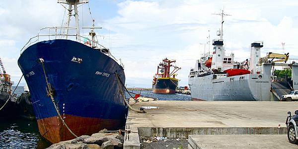 Le port de Malabo