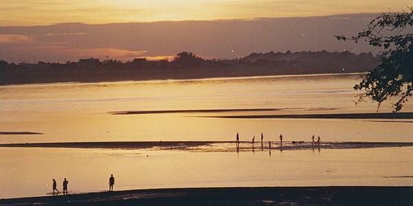 Le Mekong à VIentiane