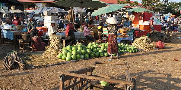 Mercado de Paksé