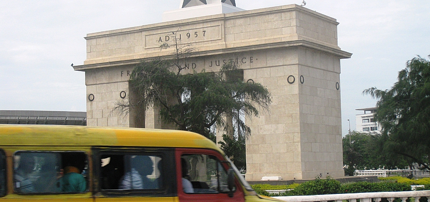 Tro-tro à Accra