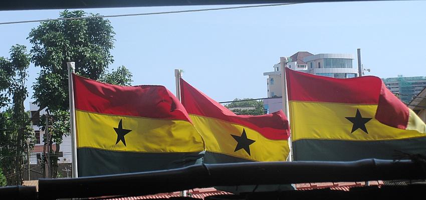 Drapeaux ghanéens