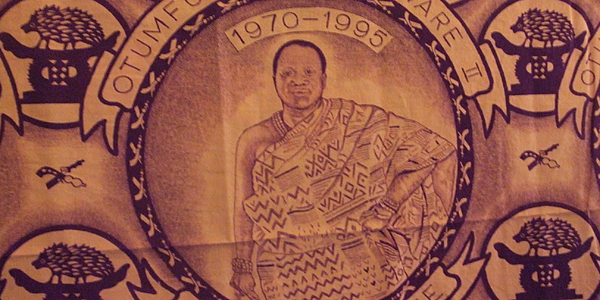 Portrait de l'Asantehene Otumfuo Opoku Ware II