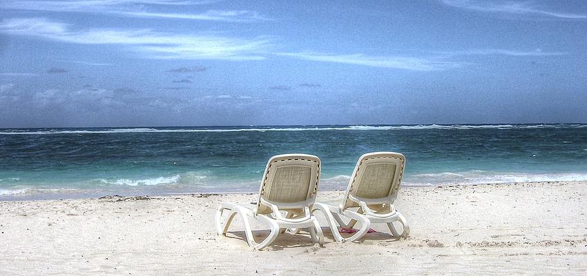 En amoureux sur la plage