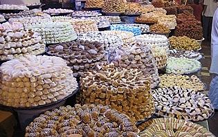 Patisserie Orientale du marché de Meknès