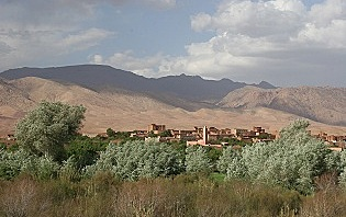Boutghar vallée du M'Goun