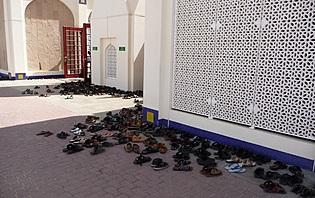 Pensez à prendre des chaussures faciles à enlever.