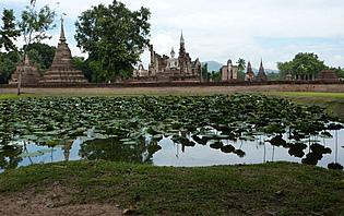 Wat Mahathat, Sukhothaï