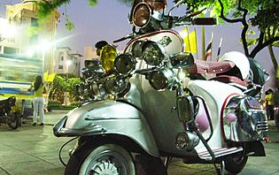 Taxi moto Bangkok