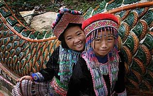 Tribu des montagnes du Nord de la Thaïlande
