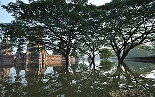 Ayutthaya après les inondations en 2011