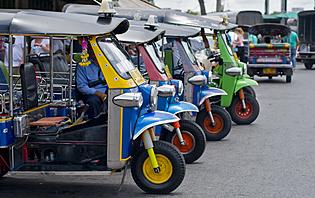 Tuk tuks à Bangkok