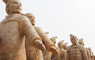 L'armée en terre cuite de xi'an