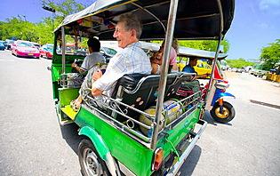 Tuk tuk en Thaïlande