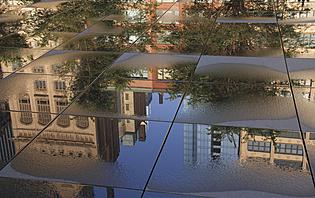 Reflet du Millenium Parc