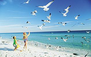 Voyage en Famille: Navarre beach, Floride.