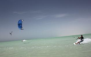 Kiteboarding Masirah