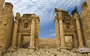 The Propylaea in Jerash