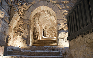 Visiter les châteaux en Jordanie