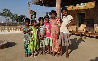 Enfants du désert du Thar