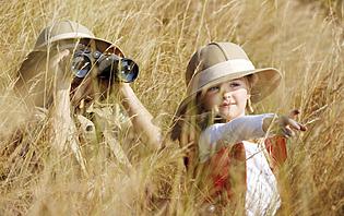 Santé et chaleur safari