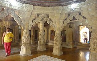 Intérieur du temple Jaisalmer