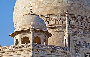 Le Taj Mahal, une prouesse architecturale