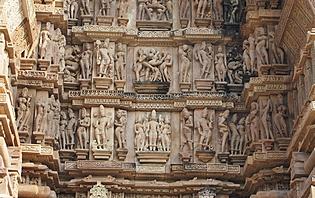 Sculptures de Khajuraho
