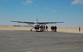 Parc Etosha en avion