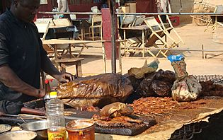 Barbecue Namibie