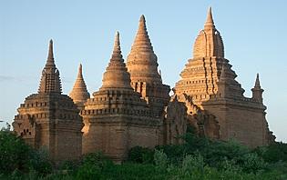 Stupas Birmanie