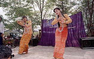 Danse traditionnelle Birmane