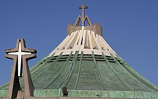 Basilique moderne de Notre Dame de Guadalupe