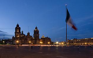 Le Zocalo de Mexico City