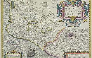Ancienne carte du Mexique