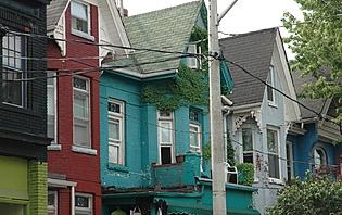 Quartier de Kensington à Toronto