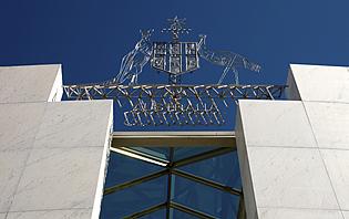 Le Parlement de Canberra