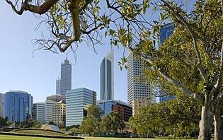 Centre ville de Perth