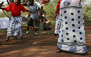 Danse traditionnel Tanzanienne!