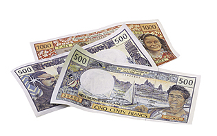 Monnaie, Polynésie Française