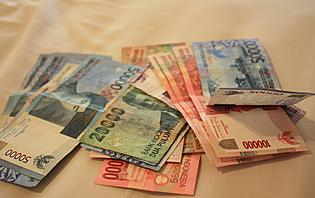 Le roupie Indonésien vous permettra de voyager à travers le pays